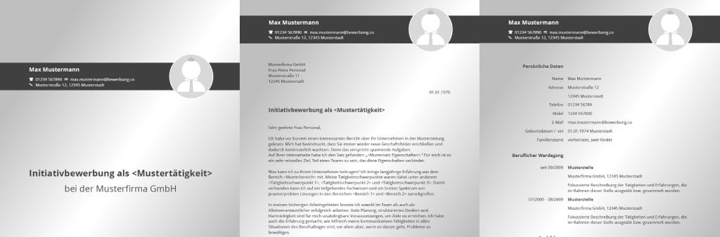 Initiativbewerbung Muster Vorlagen Inkl Anschreiben