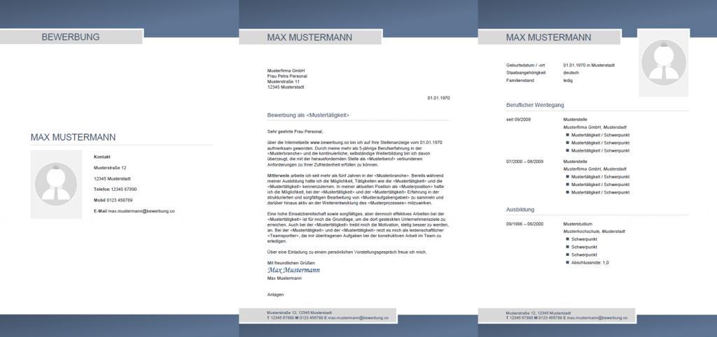 Bewerbung Muster Vorlagen Kostenlos Herunterladen