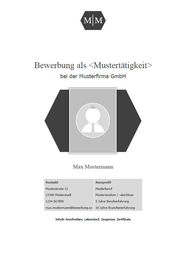 Vorlage / Muster: Deckblatt 2018