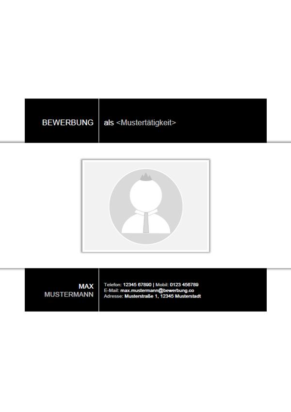 Vorlage / Muster: Deckblatt 33