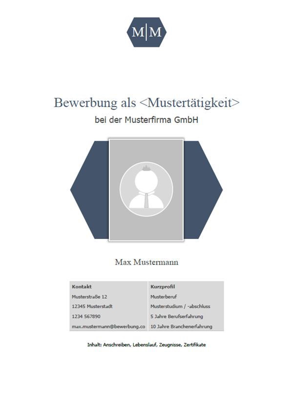 Vorlage / Muster: Deckblatt Muster 2018