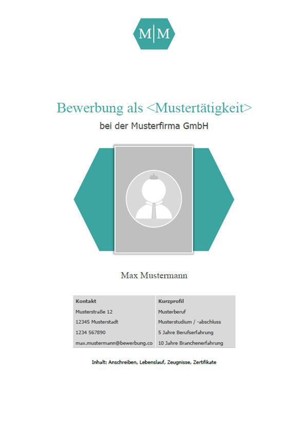 Vorlage / Muster: Deckblatt Vorlage 2018