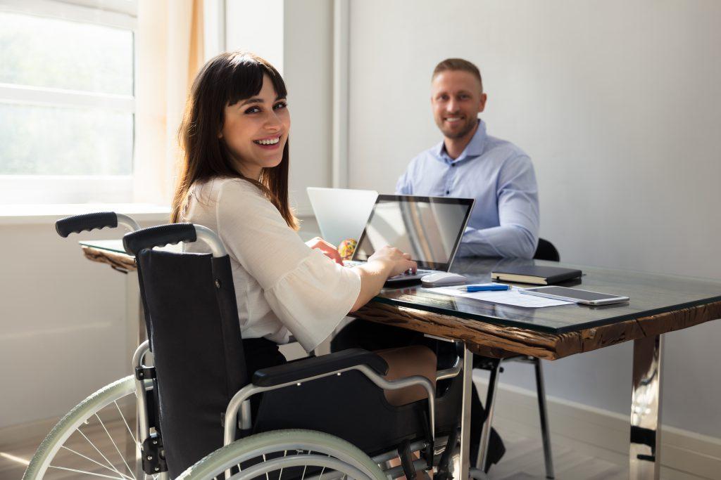 Bewerben mit Behinderung