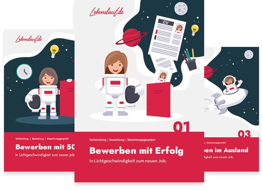 Bewerbungsbücher von Lebenslauf.de